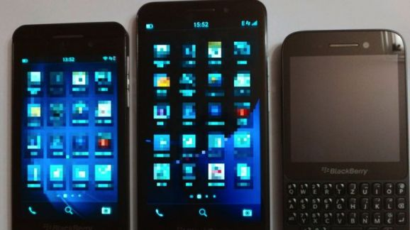 Z30 next to Z10 and Q5-578-80
