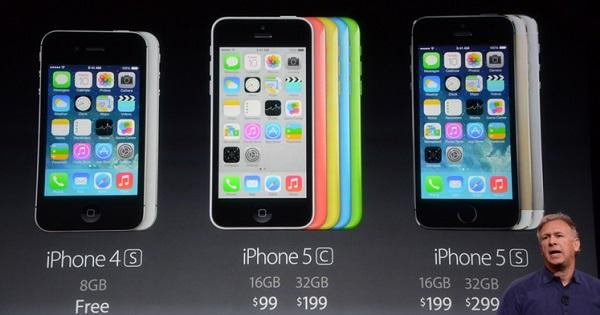 Los-nuevos-precios-de-iPhone-4S-5C-y-5S