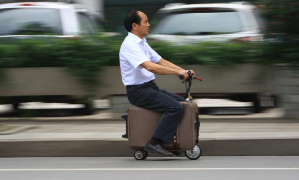 CHINA-AUTO-INVENTION-LEISURE