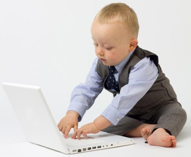 Bebé-computadora-inteligente